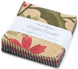 Moda Delightful December Mini Charm Pack 17870MC