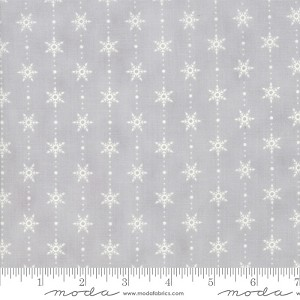 Moda Homegrown Holidays Silo Grey Snowflakes 19946-12