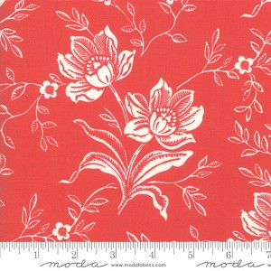 Moda Christmas Figs II 20350-31 Large Floral Pomegranate