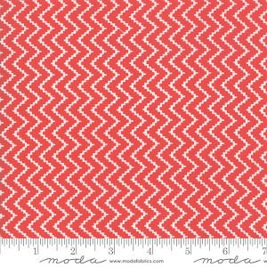 Moda Christmas Figs II 20353-31 Zigzag Pomegranate
