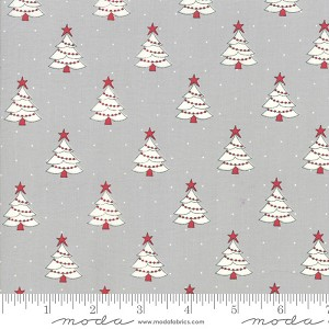 Moda Country Christmas Tree Farm Dusty Grey 2961-19
