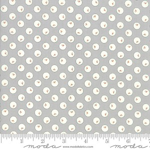 Moda Country Christmas Snowball Dusty Grey 2963-14
