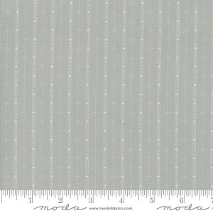 Moda Country Christmas Feeling Frosty Stripe Dusty Grey 2965-15