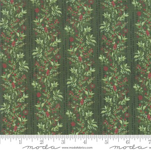 Moda Naughty Or Nice Garland Winter Spruce 30632-15