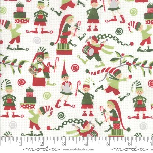 Moda Naughty Or Nice Elfin Around Snow 30633-11