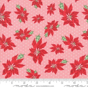 Moda Swell + Sweet Christmas Pink Buttermint 31151-13