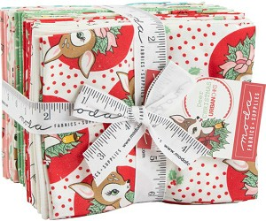 Moda Deer Christmas Fat Quarter Bundle 31160AB
