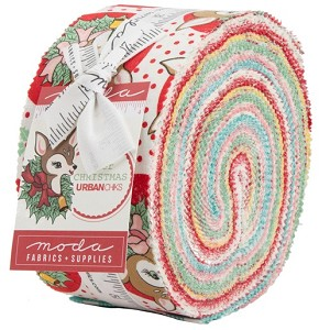 Moda Deer Christmas Jelly Roll 31160JR