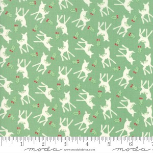 Moda Deer Christmas Spearmint Oh Deer 31164-14