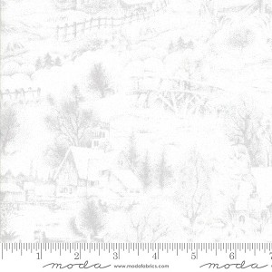 Moda Forest Frost Glitter Favorites 33411-12M Snow