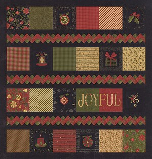 Pattern Delightful December (Layer Cake / Panel Friendly) PH659