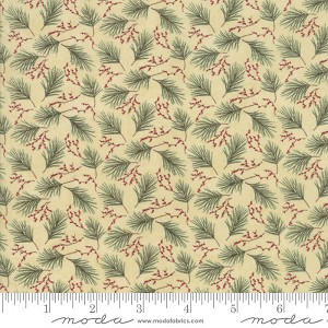 Moda Winter Manor Buff Mini Pine 6773-12