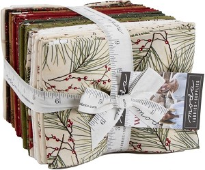 Moda Winter White Fat Quarter Bundle 6810AB