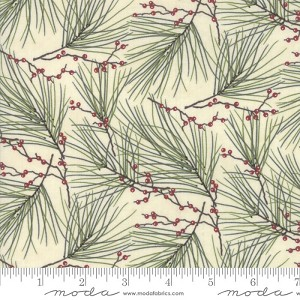 Moda Winter White Pine Needles Pearl 6812-19