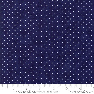 Moda Essentially Yours Liberty Blue Dots 8654-39