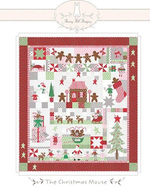 The Christmas Mouse Quilt Pattern BHD-2117
