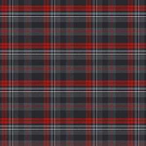 Northcott Farmhouse Christmas 23499-99  Large Plaid Black Multi