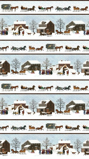 Northcott Winter Village DP22377-41