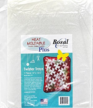 Bosal Heat Moldable Double Sided Precut Twister Tray 491B-TT-1