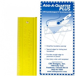 Add A-Quarter Ruler 6in Plus CM06PLUS