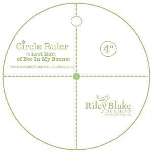 "Lori Holt 4"" Circle Ruler STRULER-4233"