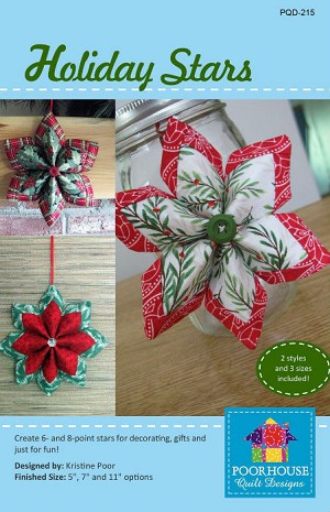 Holiday Stars Pattern PQD215