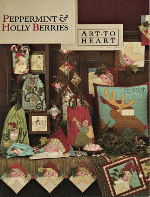 Peppermint & Holly Berries by Nancy Halvorsen