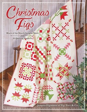 Christmas Figs Block of the Month Book ISE-922