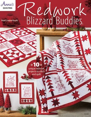 Redwork Blizzard Buddies Pattern Book