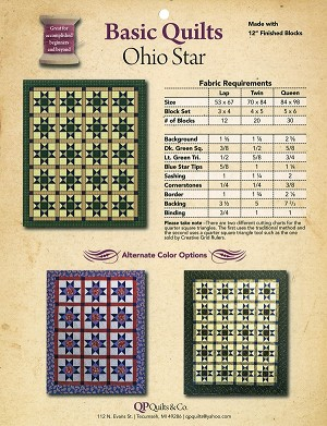 Ohio Star Pattern by Kathy Seal