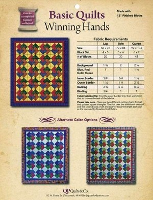 Winning Hands Pattern by Kathy Seal