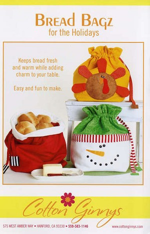Bread Bags For the Holidays Patterns