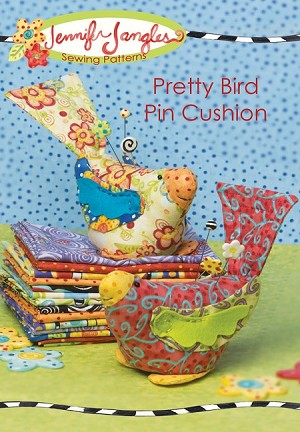 Pretty Bird Pin Cushion Pattern