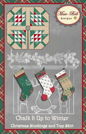 Chalk it Up to Winter Pattern by Maw-Bell Designs
