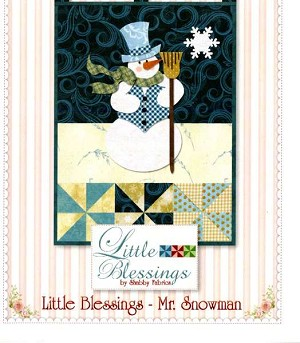 Little Blessings Mr Snowman Pattern