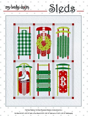 Sleds Quilt Pattern ABD292