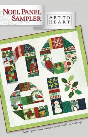 Noel Panel Sampler by Nancy Halvorsen ATH165P