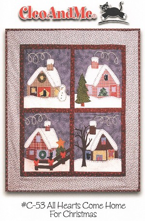 All Hearts Come Home For Christmas Pattern CAMC53