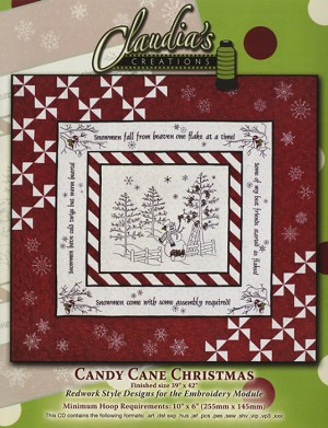Candy Cane Christmas by Claudia's Creations