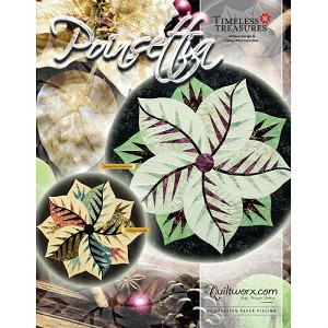 Poinsettia Table Topper Pattern JNQ00239P1