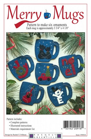 Merry Mugs Ornament Kit K0918