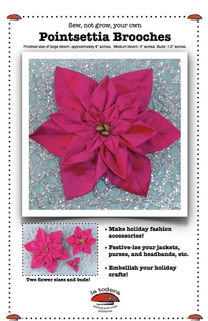 Poinsettia Brooches Pattern