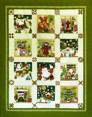 The Night Before Christmas Complete Pattern Set by Sue Garman SG-TNBCCPS