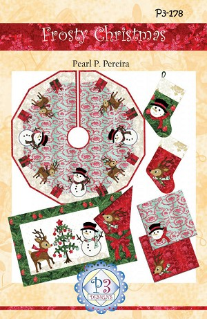 Frosty Christmas Pattern