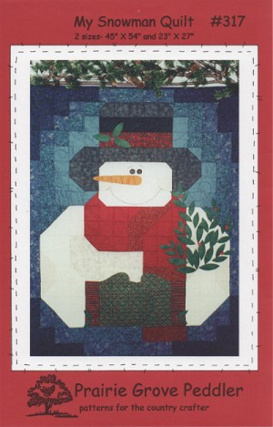 My Snowman Quilt Pattern PGP317