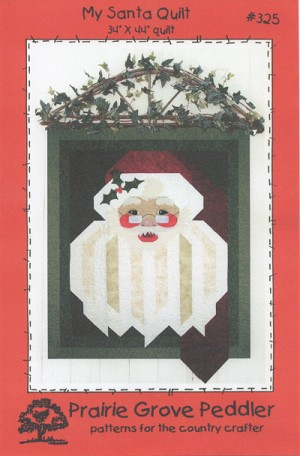 My Santa Quilt Pattern PGP325