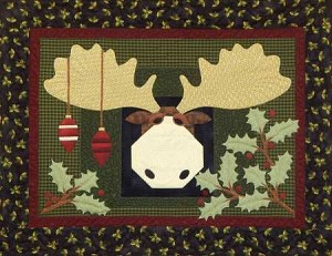 Moose in the Holly Pattern PGP408