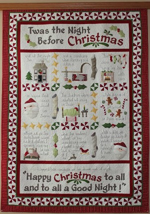 Twas the Night Before Christmas Quilt Pattern PPTWAS