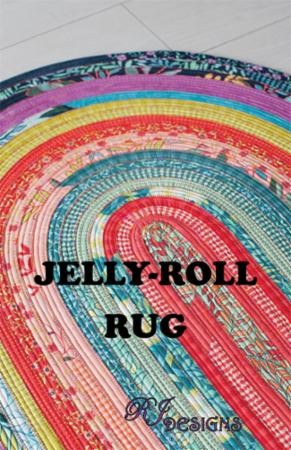 Jelly Roll Rug (oval) RJD100