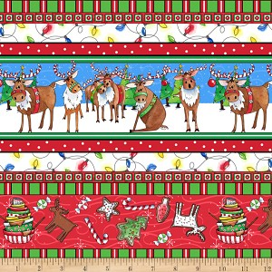 Quilting Treasures Reindeer Antics 27216-X